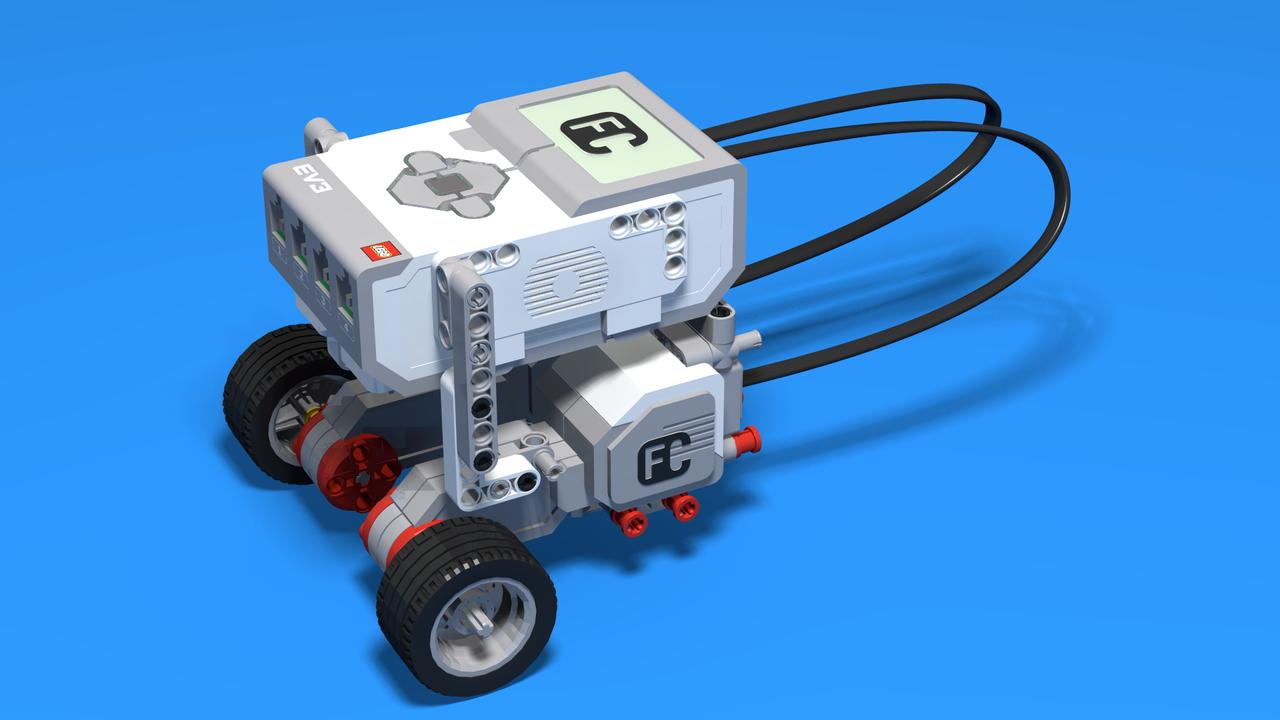 Image for Spark Bot - Underside Motor Attachment LEGO Robot