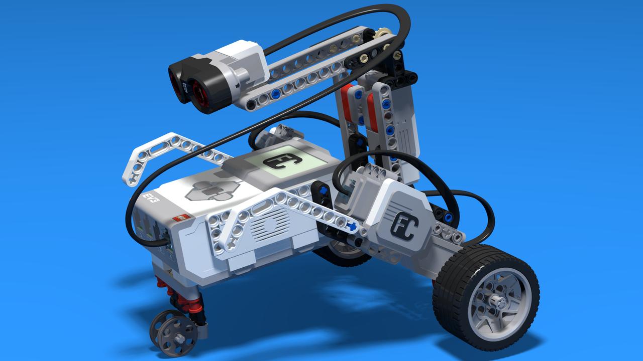 Image for Шпионски мобил - ЛЕГО Mindstorms EV3 шпионски мобил