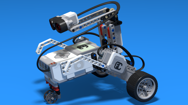 Image for Spy Vehicle - LEGO Mindstorms EV3 Vehicle acting as a spy