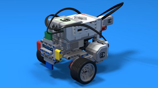 Image for Varvilina - a LEGO Mindstorms EV3 Color Wheel Robot