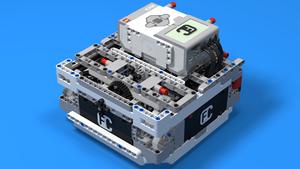 """Image for ЛЕГО """"Box"""" робот 3 – с три сензора за светлина и един сензор за ускорение"""