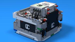 "Image for ""Box"" робот 3 с големи NXT колела"