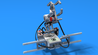 Image for Mintonette - a LEGO volleyball shooter robot
