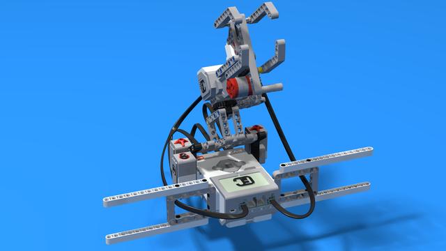 Image for Минтонета - сервиращ волейболен ЛЕГО робот