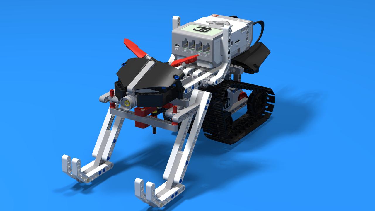 Image for SkiD00, the LEGO Mindstorms EV3 Snowmobile robot