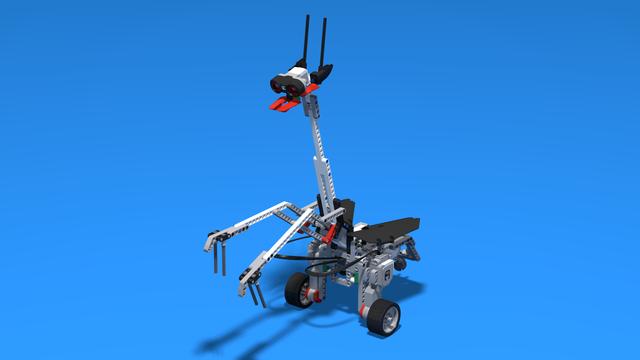 Image for Mantissa, a LEGO Mindstorms EV3 mantis robot