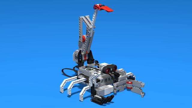Image for Antares - a simple LEGO Mindstorms EV3 Scorpion robot