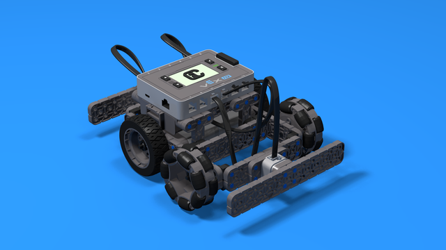 Image for Little Truckie - driving class test robot built with VEX IQ