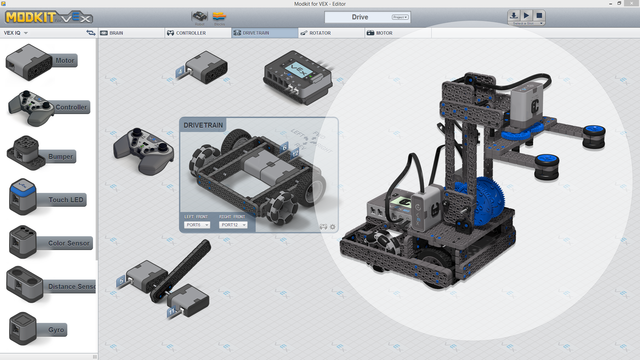 Image for Roberto Bot With Four Bars Lifting Mechanism Controls With Modkit