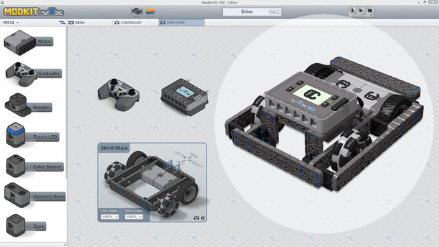 Image for Pesho Bot Chassis Controls With Modkit