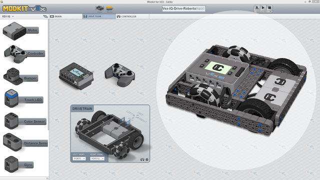 Image for Roberto Bot Chassis Controls With Modkit