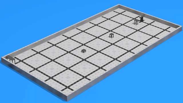 Image for VEX Field for Training Advanced Driver Skills