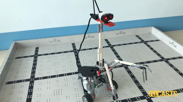 Image for How does the Mantissa LEGO Mindstorms EV3 robot work?