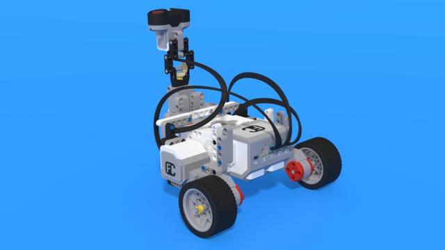 Image for Voli - LEGO Mindstorms EV3 robot measuring volume