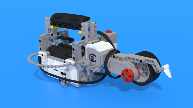 Image for Ролбар - Mindstorms EV3 робот за електронна рулетка за дължина