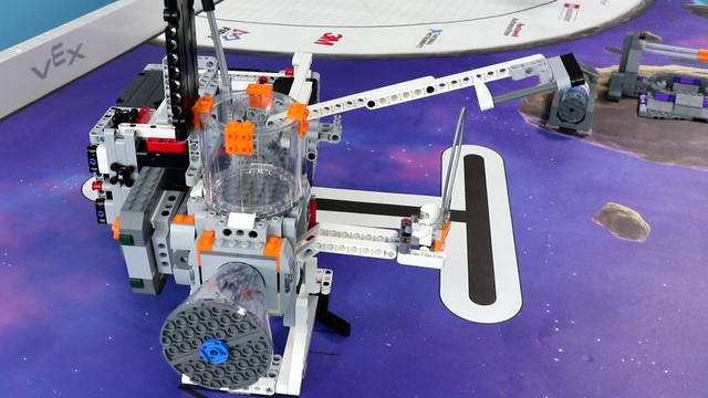 Image for FLL 2018: Mission Run M07 (precisely lift and place) from FIRST LEGO League 2018 Into Orbit. Review