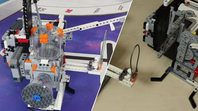 Image for FLL 2018: How to accomplish M07 (precisely lift and place) from FIRST LEGO League 2018 Into Orbit. Review