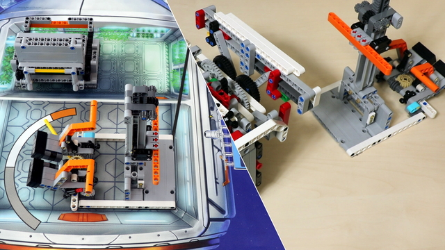 Image for FLL 2018: How to accomplish M09 (lift heavy) from FIRST LEGO League 2018 Into Orbit. Review
