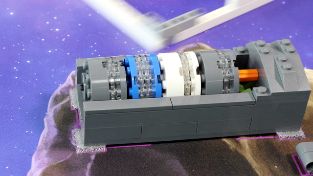 Image for FLL 2018: Mission run M05 (extract and collect) from FIRST LEGO League 2018 Into Orbit. Review