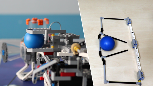 Image for FLL 2018: How to accomplish M14 (throw precisely) from FIRST LEGO League 2018 Into Orbit. Review