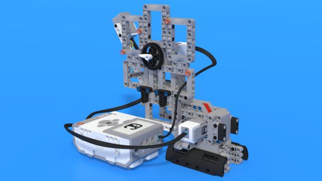 Image for Скрудж МакРобот - LEGO Mindstorms EV3 брояч на монети