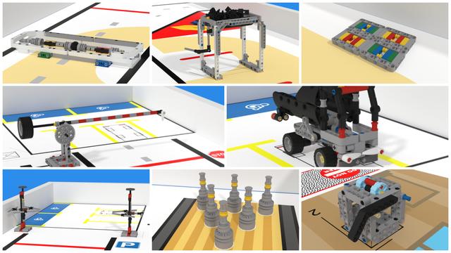 Image for FLLCasts Off-season Challenge with LEGO Mindstorms EV3