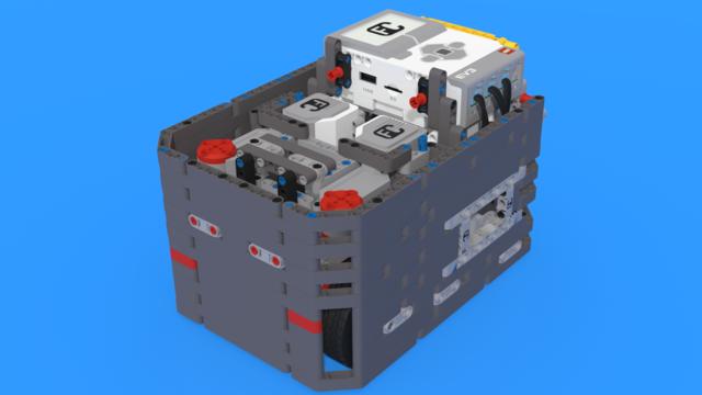 Image for Brazilian Son - LEGO Mindstorms EV3 robot following the Box Robot Principle.