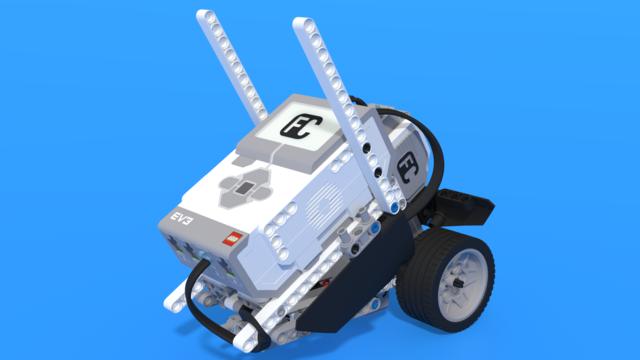 Image for Cody, the LEGO Mindstorms EV3 barcode reader robot