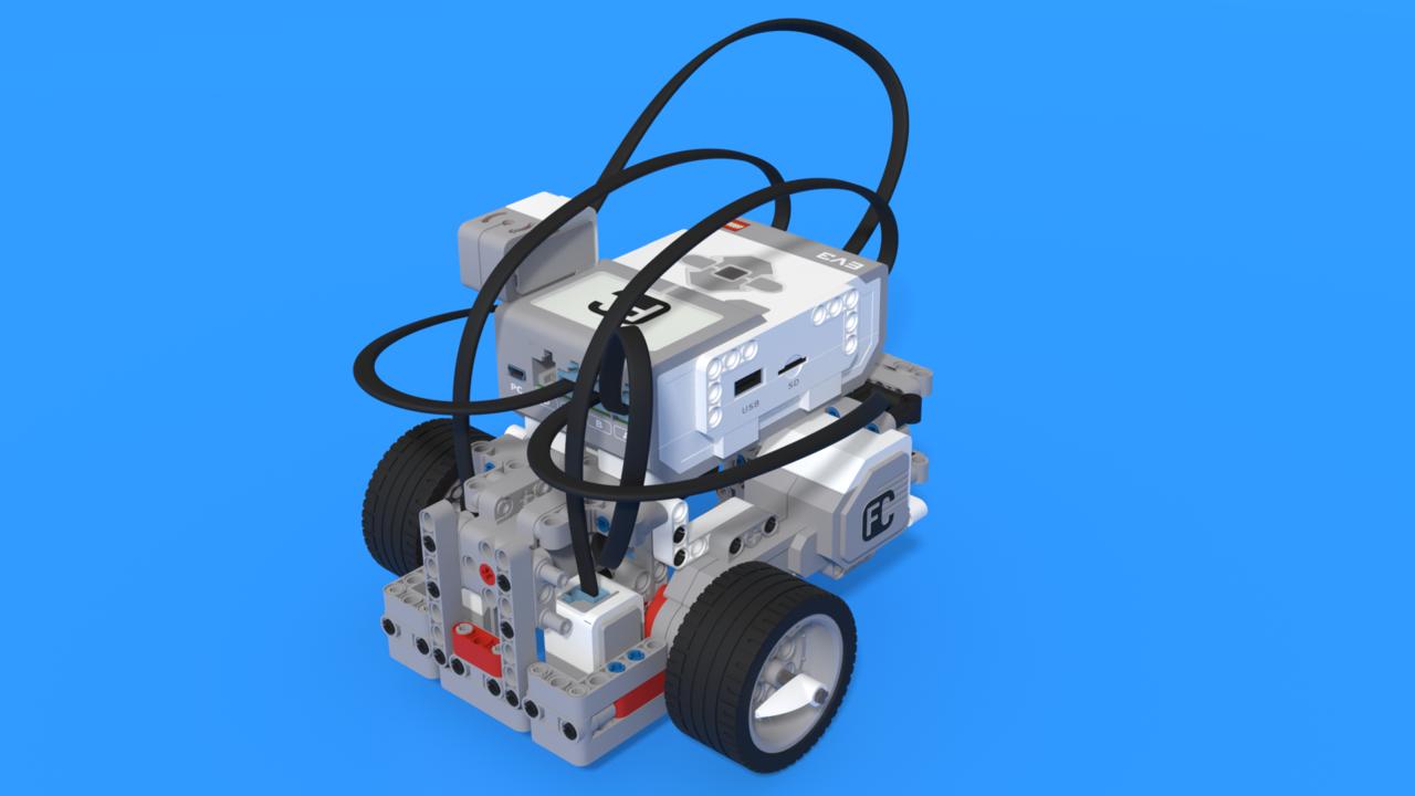 Image for EV3 Competition Robot Light and Gyro sensor