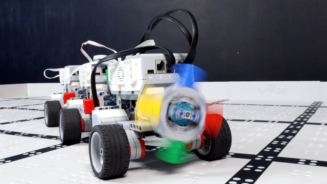 Image for How to play the Telephone Game with LEGO Mindstorms EV3 robots?