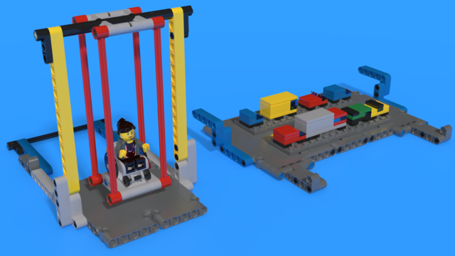 Image for Bag 9 from FIRST LEGO League 2019-2020 City Shaper Challenge