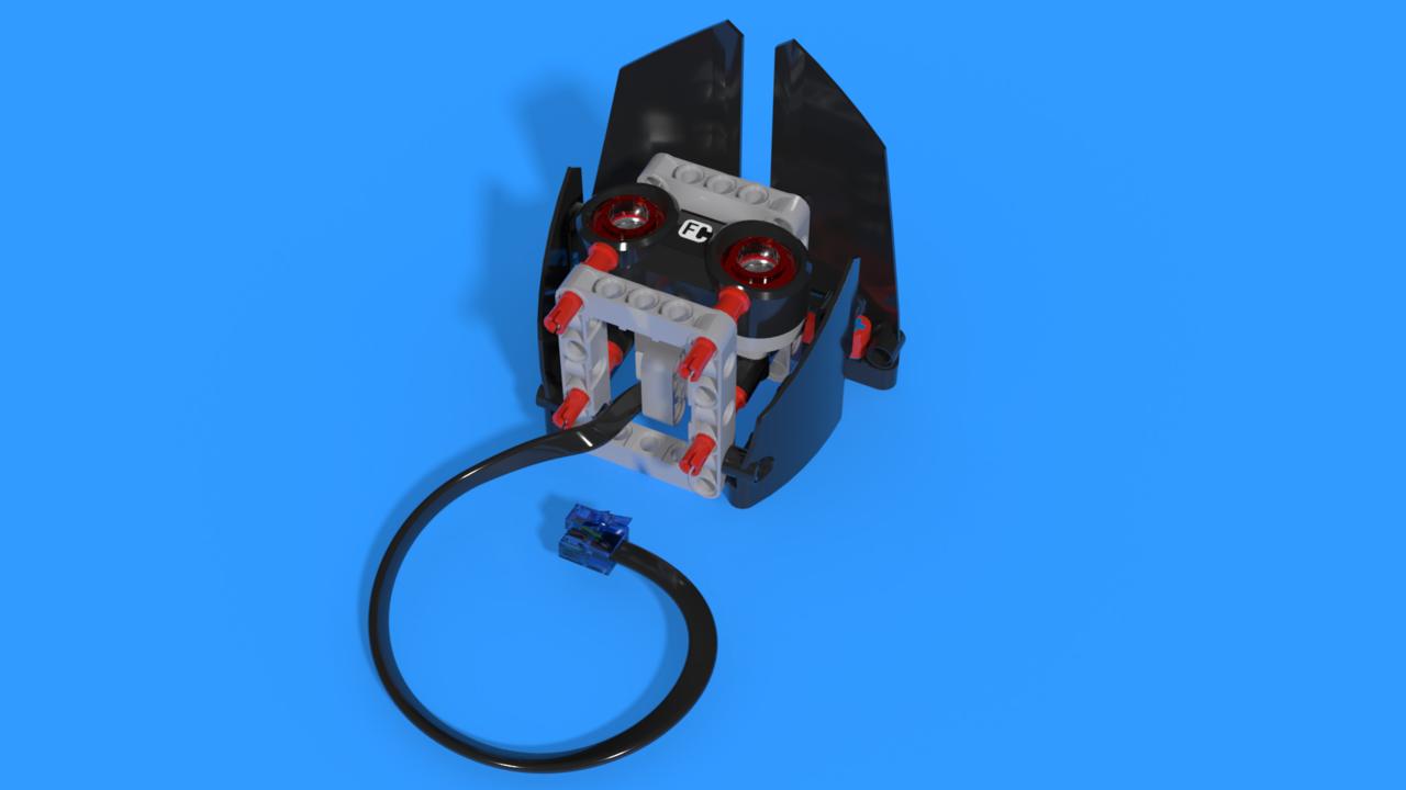 Image for Ултразвуков модул на EV3 Тактилната игра за памет