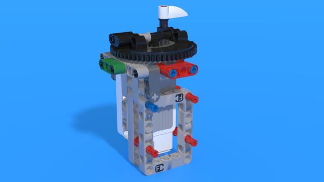 Image for Модул със среден мотор на EV3 Тактилната игра за памет