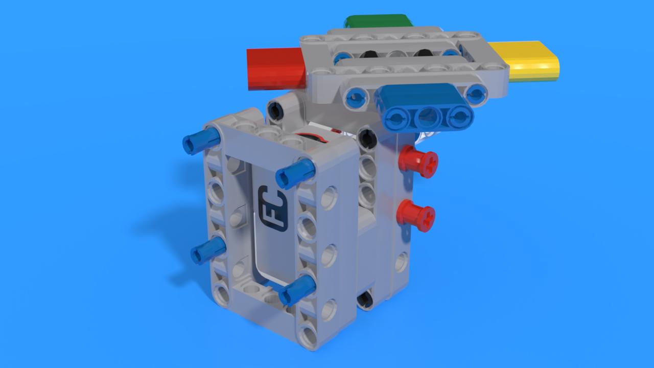 Image for Модул с цветове на EV3 Тактилната игра за памет