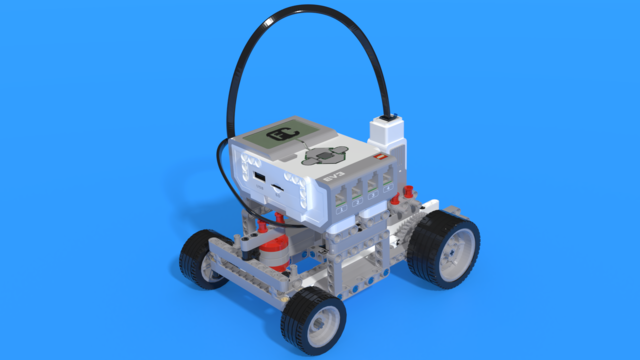 Image for Francesco 2 - Simple LEGO EV3 Car with differential rear-wheel-drive