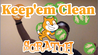 Image for Keep 'em clean - remote Scratch game course