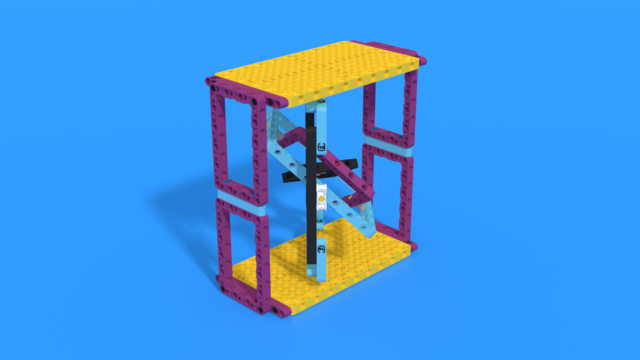 Image for Gyro-like free moving mechanism with LEGO Spike parts